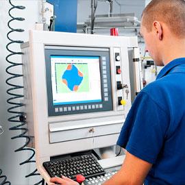 Machine shop in Carson California